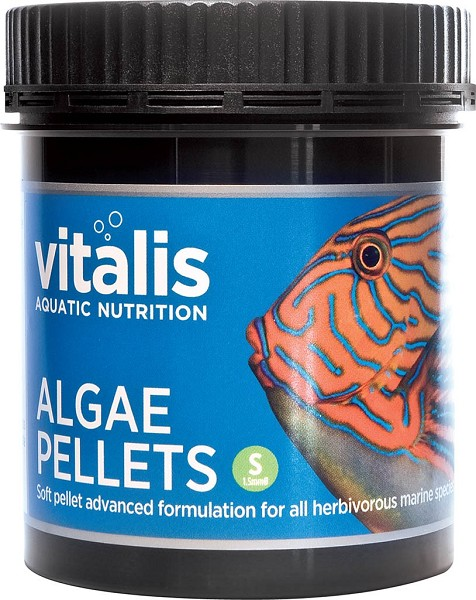 Algae Pellets Small 1.5mm (Vitalis)