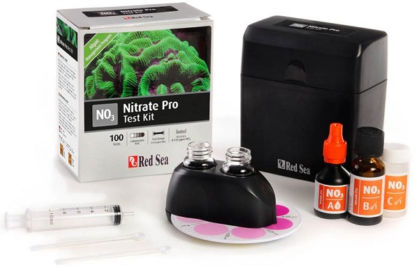 Nitraat Pro (NO₃) Comparator Test kit