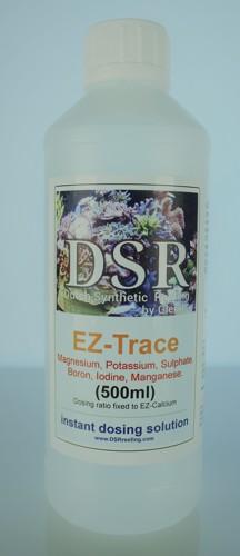 EZ-Trace, Mg, K, S, B, I, Mn Sporenelementen voor DSR+ EZ 500ml