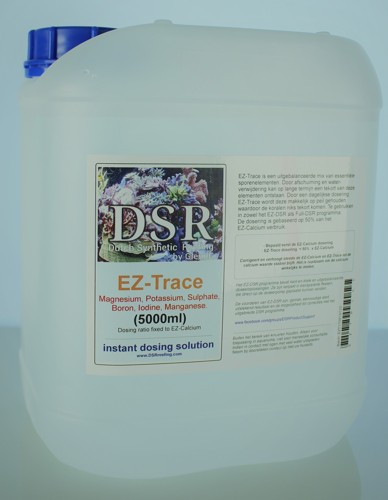 EZ-Trace, Mg, K, S, B, I, Mn Sporenelementen voor DSR+ EZ  10L